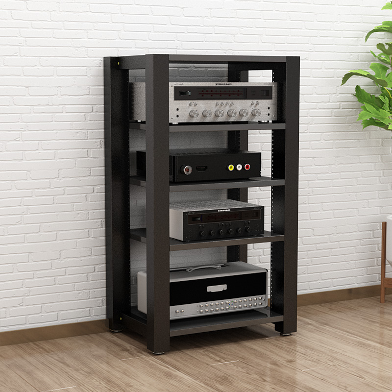 2layer Adjustable Amplifier Cabinet, Audio Furniture Racks And Cabinets