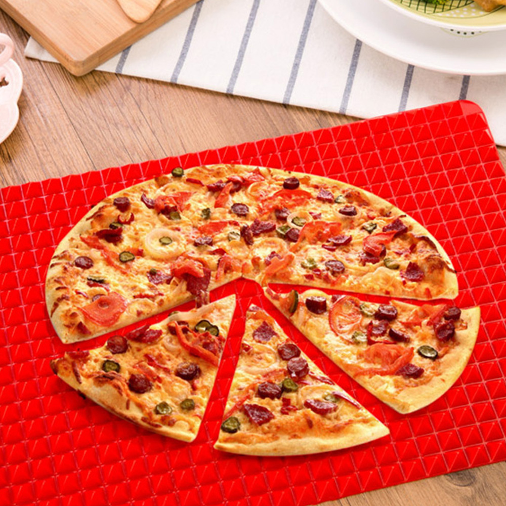 creative silicone baking mat microwave oven mat non stick odorless and durable easy to clean kitchen baking tray gadge