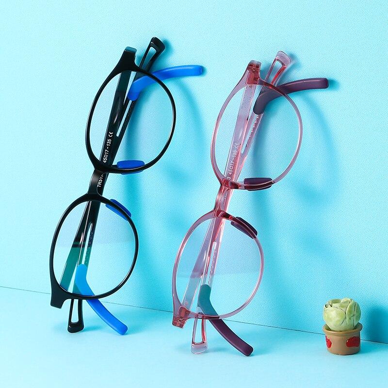 Купить детские очки с защитой от синего света tr90 для подростков регулируемой