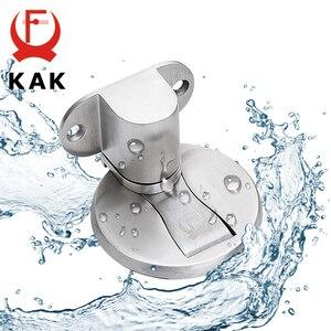Image 2 - Регулируемый дверной держатель KAK, магнитный дверной ограничитель из нержавеющей стали, наклейка без отверстий, Водонепроницаемый дверной ограничитель, мебельная дверная фурнитура