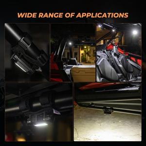 """Image 5 - 1.5 2.0 """"Thanh Lăn LED KEMIMOTO Cho Có Thể Am Canam Maverick Dành Cho Xe Honda Tiên Phong Cho Polaris RZR Ranger Cho Jeep Wrangler"""