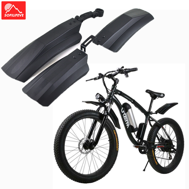 snow Bicycle Bike Front Rear Mud guard Fenders 26 inch bike fender for fat tire