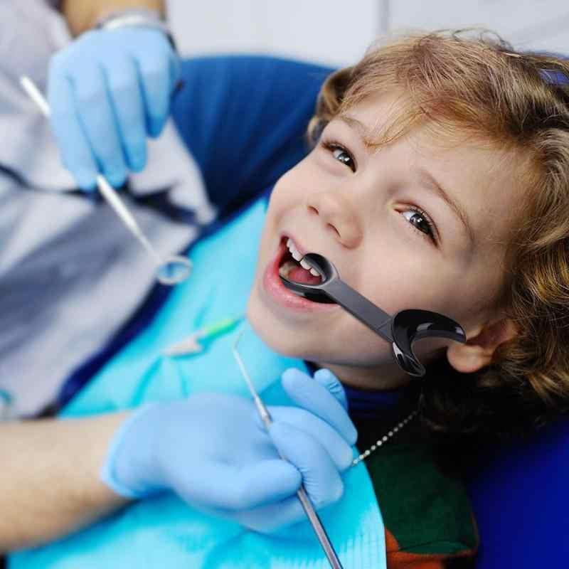 XY يتوهم T-شكل داخل الفم الخد مزدوج رئيس الشفاه ضام مزدوج رئيس تقويم الأسنان الفم فتاحة أداة طب الأسنان