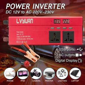Car Inverter 6000W Peak DC 12V