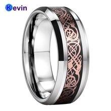 Мужское и Женское Обручальное кольцо вольфрамовое на основе