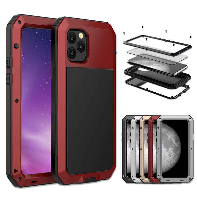 Coque iPhone 11 Pro Max Armure Case TPU PC Bumper Housse Etui Antichoc Full Protection
