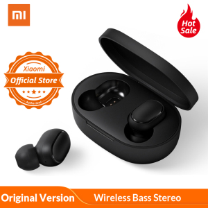 Xiaomi Redmi AirDots In Ear Bluetooth 5.0 Charging Earphone Wireless Bass Stereo Earphones With Mic Handsfree Earbuds AI Control(China)