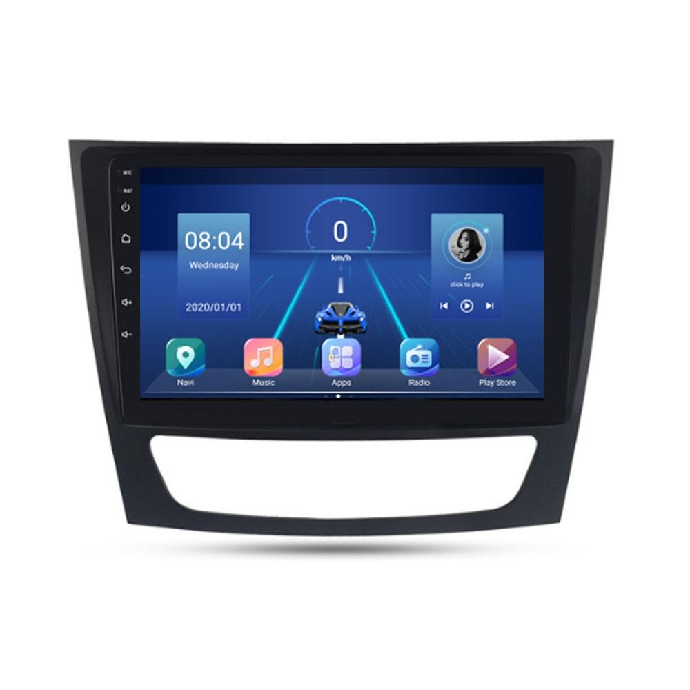 2 الدين سيارة مشغل وسائط متعددة الروبوت 8.1 GPS لبنز الفئة E W211 E200 E220 E300 E350 E240 E270 E280 CLS الدرجة W219 2002-2010