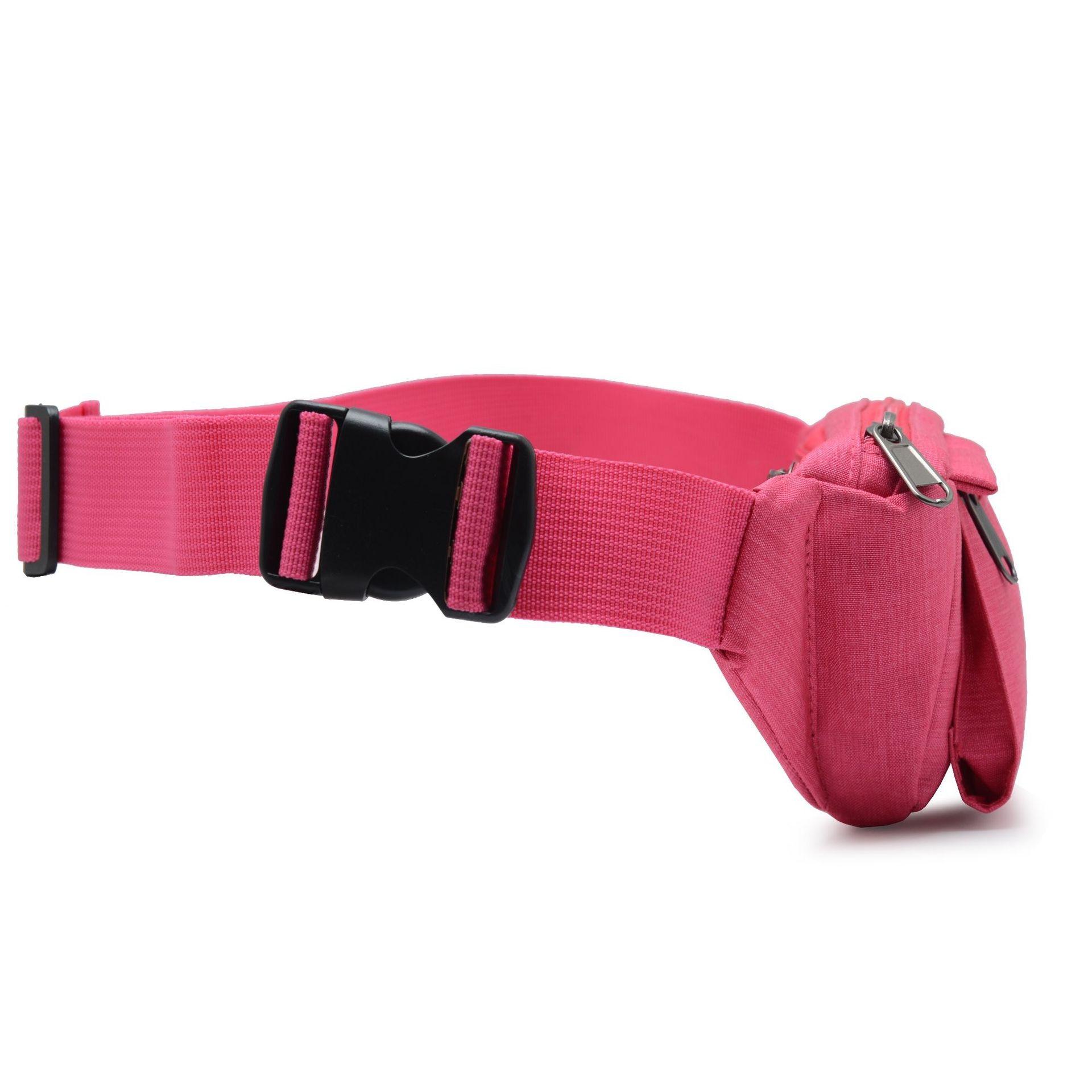Waterproof Waist Pack Multi-functional Men And Women-Sports Mobile Phone Belt Bag Fitness Equipment Money Business Bag Thin