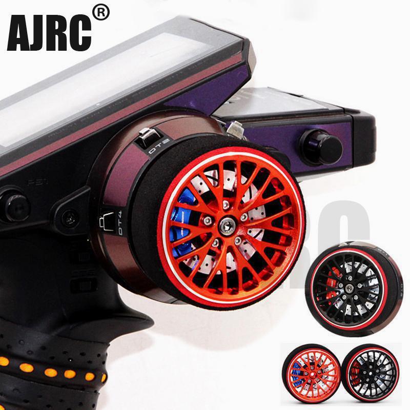 AJRC noir rouge métal télécommande volant pour FUTABA RZ-D FUTABA 4PL S 4PX R 3PV 4PV 7PX 4PK 4PKS R KO-EX1 télécommande