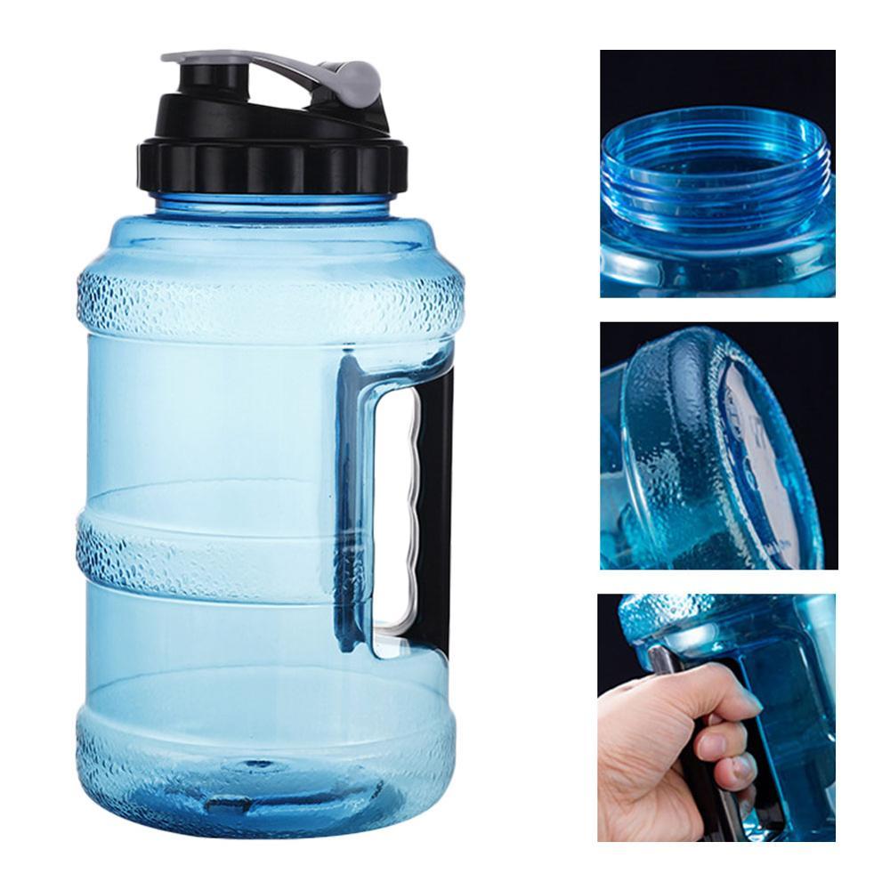 Кувшин для воды-2,5л большая бутылка для воды многоразовая пластиковая бутылка для воды без запаха с широким горлышком для тренажерного зала...