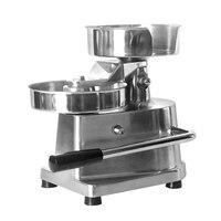 ITOP 15cm Hamburger Press Forming Machine Patty Maker Food Processors With 500pcs Burger Paper Round Meat Press Machine