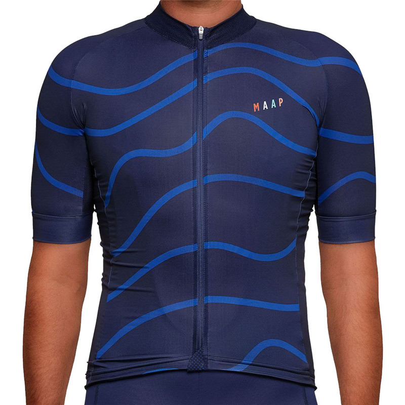 MAAP Summer Cycling Jerseys Mans Mountain Bicycle Clothing Maillot Ropa Ciclismo Racing Bike Clothes