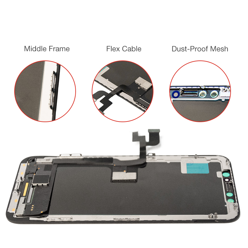 1PC Upgraded Version New OLED Quality LCD Screen for iPhone X 10 5.8