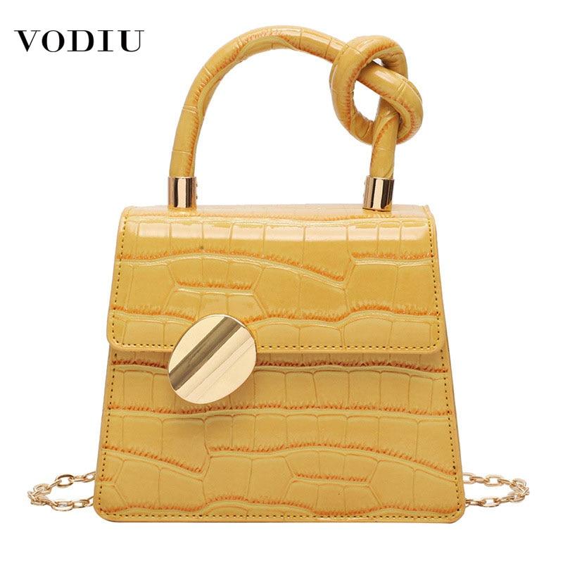 Bag Women's Handbag Fashion Treasury Port Fashion Stone Stripe Single Slant Chain Shoulder Leather Crossbody Bags For Women Bag