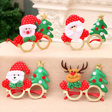 Christmas Decorations for Home Glasses Cartoon Antlers Elderly Childrens Holiday Party Creative Gifts Navidad