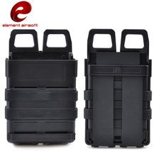Buy Element Airsoft 5.56 M4 FastMag Pouch Molle Hunting Fast Mag Holder Military Softair Tactical Magazine Pouch Holster EX355 discount