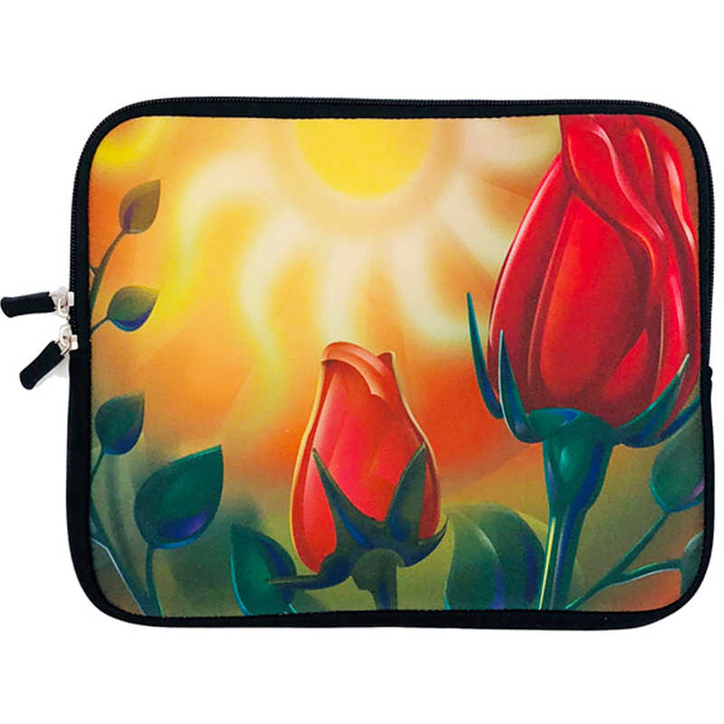 Mode femme Zipper Sleeve pochette d'ordinateur 7 9.7 10 13 12 13.3 17 14 15 Ordinateur Portable étui pour macbook Air 11 HP Envy Lenovo Yoga 300 Cas