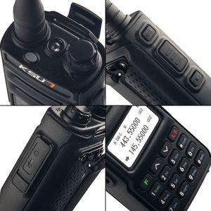 Image 3 - KSUN  Walkie Talkie Dual Band Handheld Two Way Ham Radio Communicator HF Transceiver Amateur Handy Walkie talkie