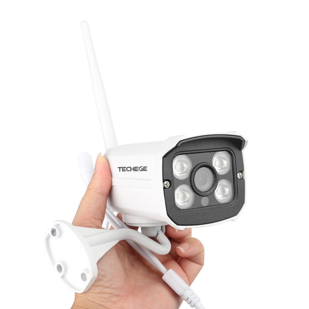 Hc19c405bde0241e0b79f0cdc58c31c83K Techege HD 1080P Wireless SD Card Slot Audio IP Camera 2.0MP wifi Security Camera Night Vision Metal Waterproof Outdoor Camera