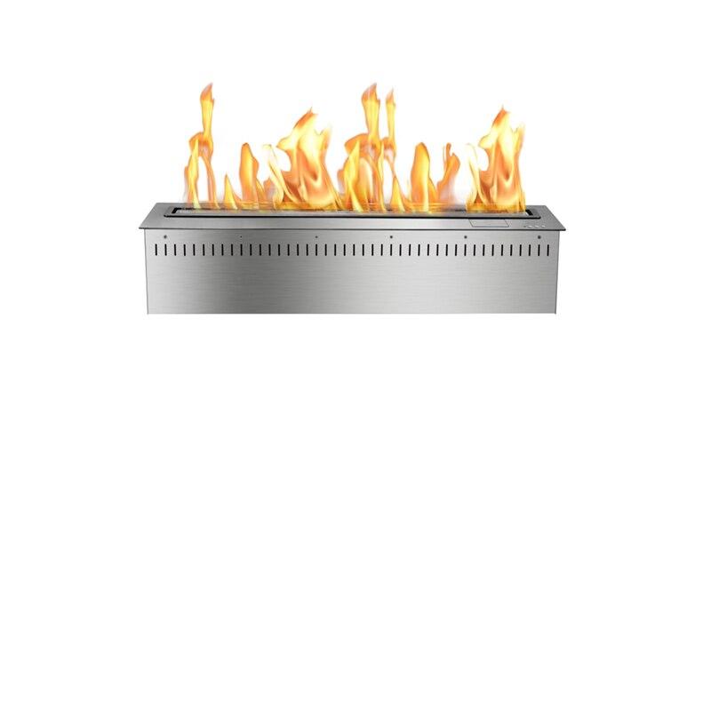 24 Inch Bio Ethanol Fuel Antique Electric Fireplace