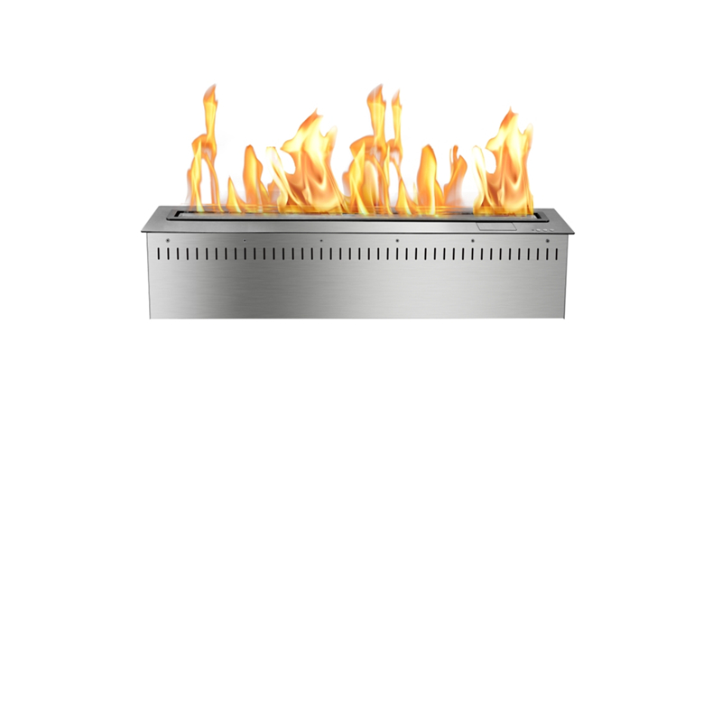 24 Inch Freestanding Modern Fireplace Electric Fire Pit