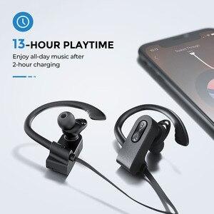 Image 5 - Mpow Flamme 2 Bluetooth 5,0 Kopfhörer Drahtlose Kopfhörer Mit Mikrofon IPX7 Wasserdicht 13H Spielzeit Für iPhone X 7 Xiaomi telefon