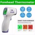 Термометр медицинский Бесконтактный с ЖК-дисплеем, инфракрасный измеритель температуры тела для детей и взрослых