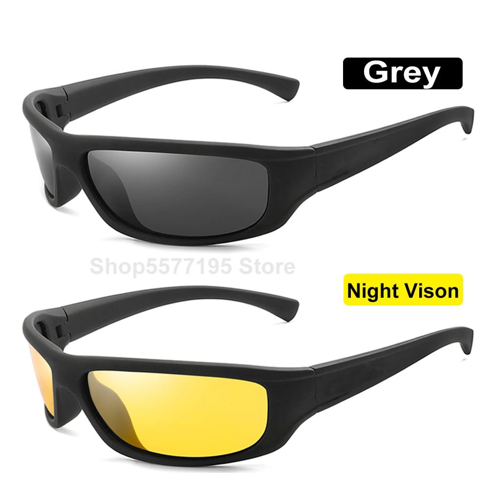 New Yellow Lense Night Vision Driving Glasses Men Polarized Driving Sunglasses Polaroid Goggles Reduce Glare 2020
