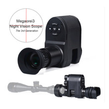 Megaorei 3 Hunting Night Vision Scope Monocular Video Infrared IR Camera for Riflescope Optical Sight Hunting Camera