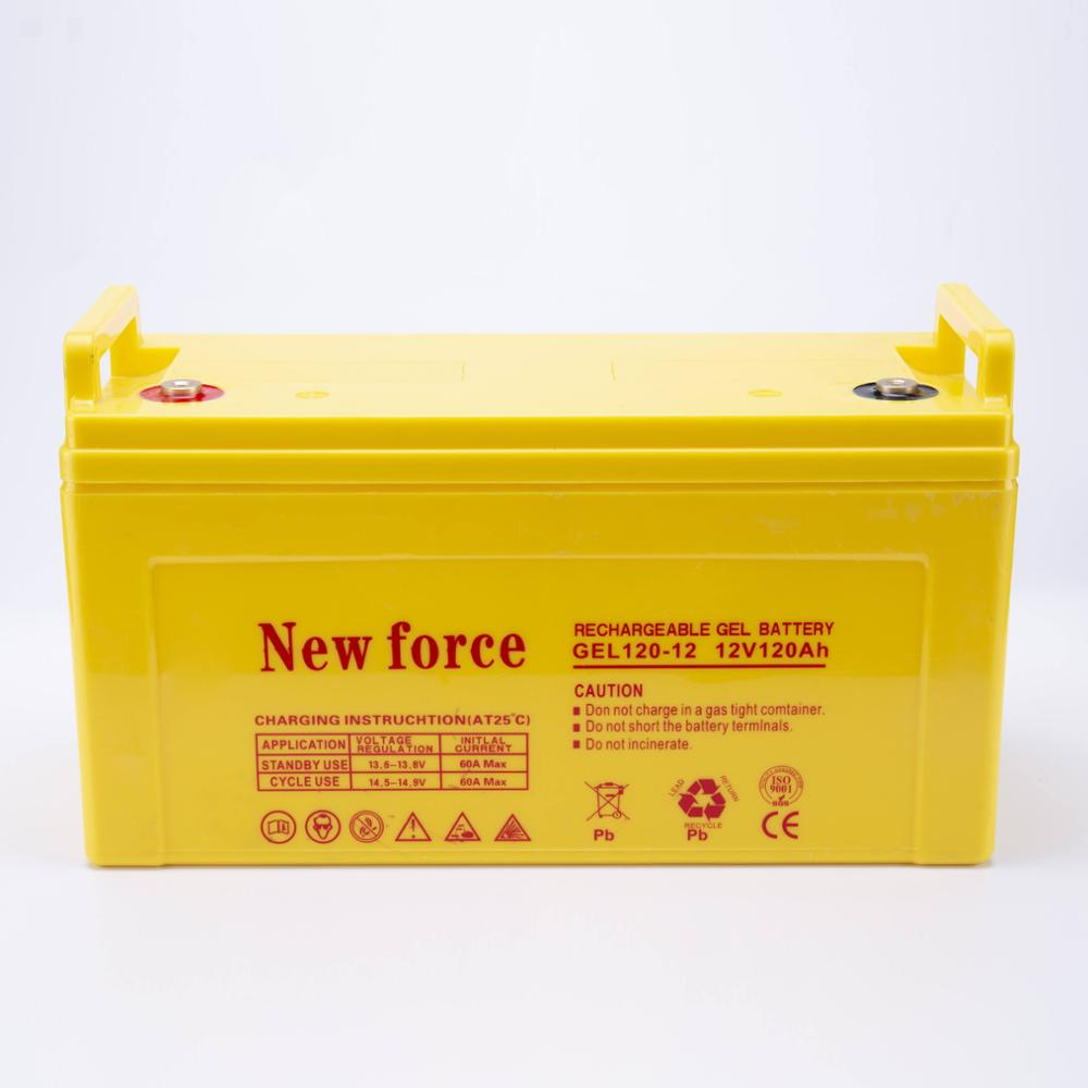 China low cost 12 volt 120ah 10hr batteries AGM lead acid free maintenance uninterruptible power supply storage aa battery for r