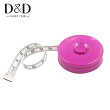 купить 50pcs 150CM Tape Measure Portable Retractable Ruler Dual Sided Centimeter Sewing Measuring Tape Sewing Tool дешево