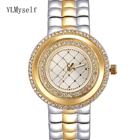 Beautiful Watch for women, Very Light with Thin Dial, 3 colors of White, Gold & 2 Tone, 19cm length Perfectly Watches