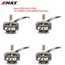 1 шт./2 шт./4 шт. Emax ECO Series 2306 6S 1700KV 4S 2400KV бесщеточный двигатель для RC моделей запасные части DIY аксессуары