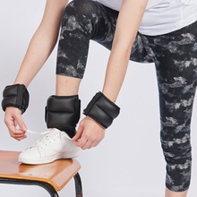 цена на 2Pcs Ankle Wrist Weights Durable Gym Fitness MMA Boxing Running Walking Leg Weights Adjustable Resistance Training Leg Sandbag