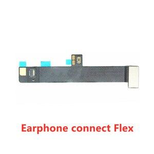 Image 3 - موصل اللوحة الأم لجهاز iPad Pro 10.5 2017 A1709 A1701 ، قطع غيار سماعة الرأس ، كابل الصوت المرن
