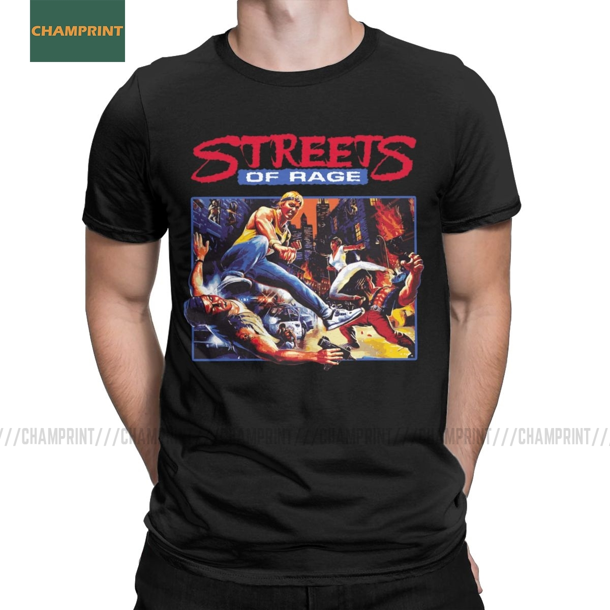 NEW RETRO STREETS OF RAGE 2 T-SHIRT SIZES S M L XL XXL+