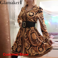 Baroqueness Vintage Gold Dress 2