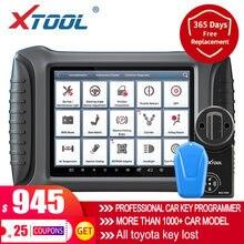 XTOOL najnowszy do samochodu OBD2 klucz programujący X100 PAD3 profesjonalnego OBD2 narzędzia diagnostyczne immobilizera z Kc100 bezpłatna aktualizacja online