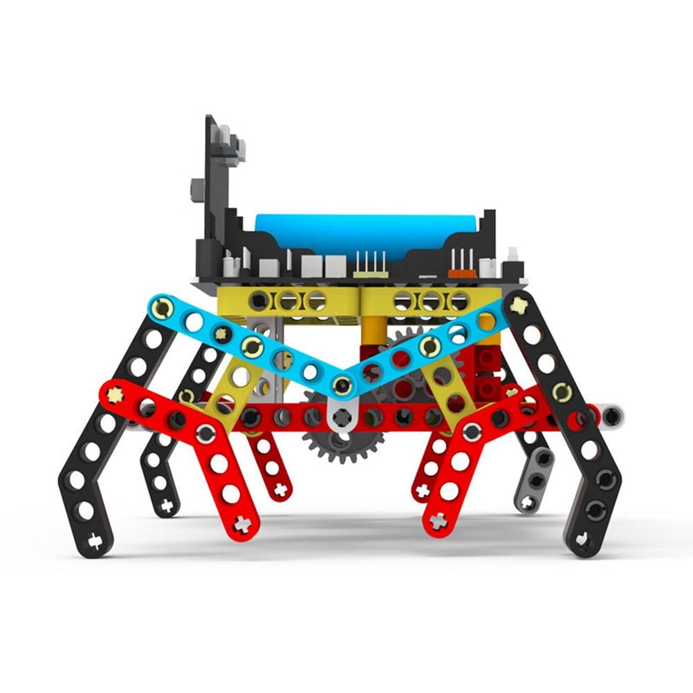 Программа Интеллектуальный робот комплект паровой Программирование Образование Строительный блок паук для микро: бит(нет или в том числе микро: бит доска