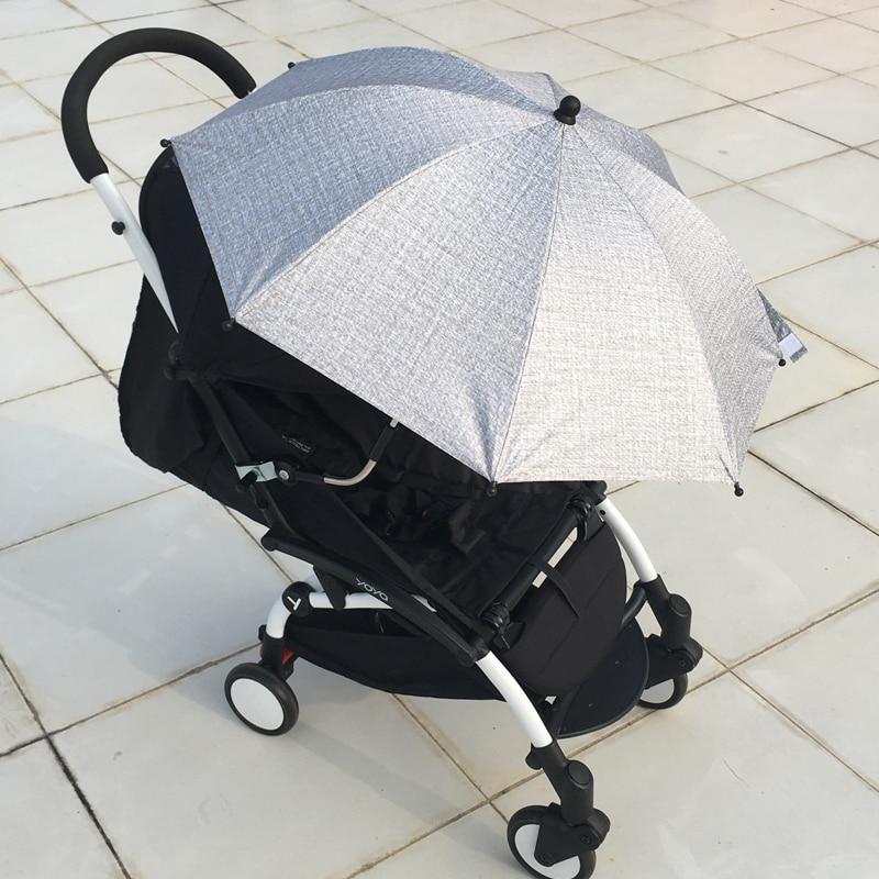 Универсальные аксессуары для детской коляски 95%, зонт с УФ-защитой 360 градусов, регулируемый солнцезащитный козырек от солнца, навес