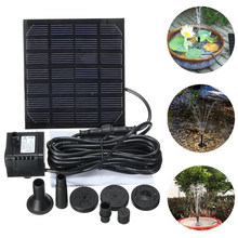 Solar Water Pump Fountain Garden Floating Plants Watering Power Fountains Pool Home Garden Fish Pond Waterpump Solar Fountain