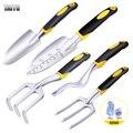 Садовый инструмент TAITU, ручной мастерок, лопата, грабли, культиватор с эргономичной ручкой для сада, лужайки, пересадки сельскохозяйственны...