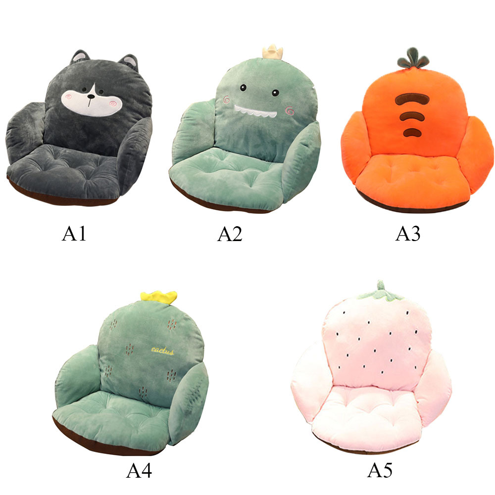 Lovely Cartoon Chair Cushion For Home Office Thicken Seat Pad Pillow Car Seat Sofa Living Home Room Decoration
