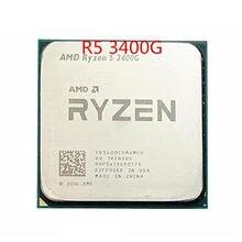 AMD Ryzen 5 3400G R5 3400G 3,7 ГГц четырехъядерный очко-Hilo de 65 Вт процессор CPU hembra AM4