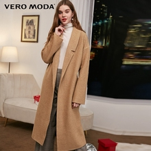 Vero Moda Lapel Straps Wool Coat