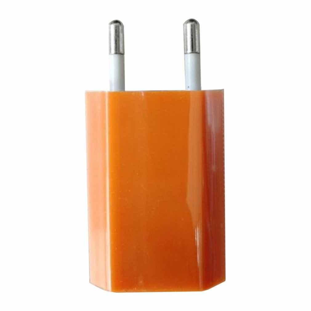 Ładowarka ścienna USB ładowarka Adapter 5V 500MA pojedynczy Port USB szybkie gniazdo ładowarki dla iPhone dla telefonu z systemem Android