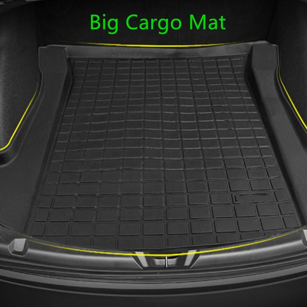 Customized Car Rear Trunk Storage Mat Cargo Tray Trunk Pads Waterproof Mat For Tesla Model 3 Protective Compatible U4I5