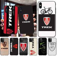 PENGHUWAN Trek Mountain Bikes logo Soft Silicone TPU Phone Cover for iPhone 11 pro XS MAX 8 7 6 6S Plus X 5S SE XR case
