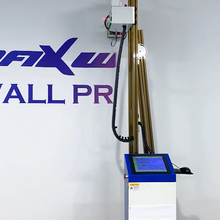 Maxwave Wall Printer Manufacture 3D White UV Printing Machine Indoor Outdoor Wall printing machine 3D Decoration